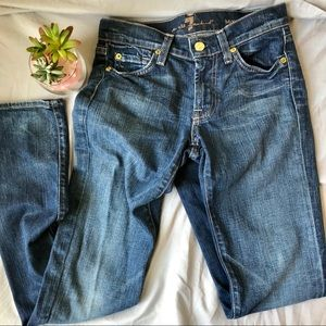7 For All Mankind Roxanne Skinny Jean 25 x 32